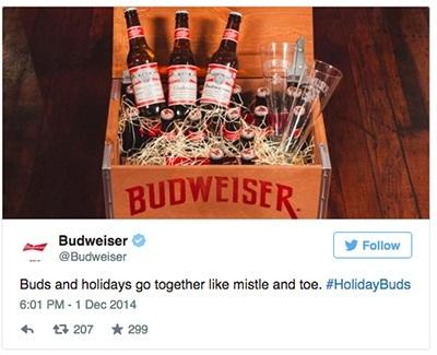 budwiser holidays buds