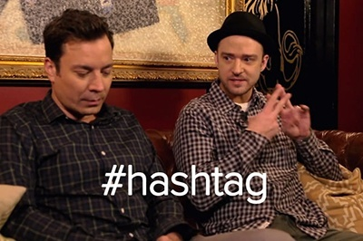 use the right hashtags