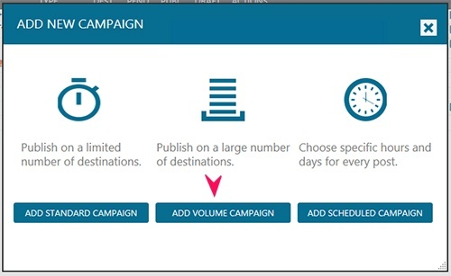 volume campaign