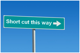 Paying for short cut