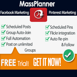 Try Mass Planner today 5 days for free