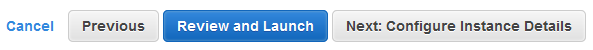 click the review and launch button