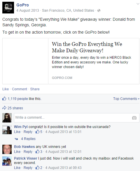 how to create a voting contest on facebook