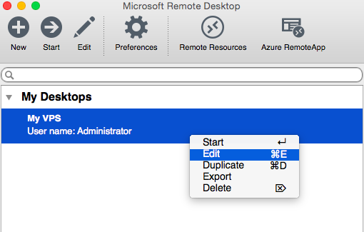 microsoft remote desktop connection
