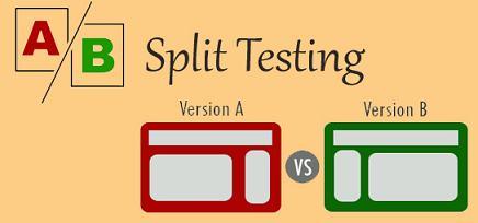 use split testing